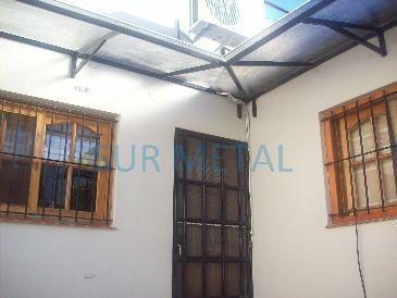 Techos de policarbonato sur metal galer a for Cerramientos para patios internos