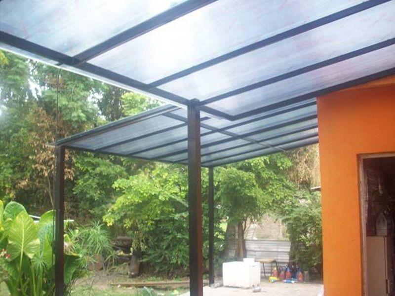 Techos de policarbonato sur metal for Techos de tejas para patios exteriores